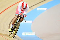 Picture by Alex Broadway/SWpix.com - 02/03/2018 - Cycling - 2018 UCI Track Cycling World Championships, Day 3 - Omnisport, Apeldoorn, Netherlands - Alexander Evtushenko of Russia competes in the Men's Individual Pursuit Qualifying.