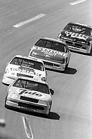 #5 Chevrolet Lumina driven by Ricky Rudd leads a pack of cars during the DieHard 500, NASCAR Winston Cup race, Talladega Superspeedway, July 26, 1992.  (Photo by Brian Cleary/bcpix.com)