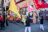 Chinese Lunar New Year, Chinatown, Seattle, WA, USA.