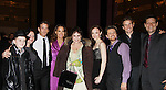Michael Mastracci - Mimi Bessette - Sean McDermott - Glory Crampson - Louise Sorel (Days of our Lives) - Melissa van der Schyff - Ric Ryder - Claybourne Elder - Victor Hernandezas they support the Broadway Extravaganza to honor the Candidacy of Artist Jane Elissa for the Leukemia & Lymphoma Society, Man & Woman of the Year on April 23, 2012 at the New York Marriott Marquis, New York City, New York.  (Photo by Sue Coflin/Max Photos)