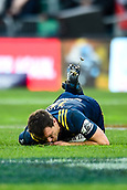 June 3rd 2017, AMI Stadium, Christchurch, New Zealand; Super Rugby; Crusaders versus Highlanders;  Ben Smith of the Highlanders gets medical attention during the Super Rugby match