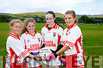 At the 4th annual Sandra Keane u/13 ladies football blitz in the John Mitchels sports complex on staurday were Orla Divine, Hayley Getkate, Emma Ní Chonchúir, Catriona Mcdonagh from Corca Dhuibhne