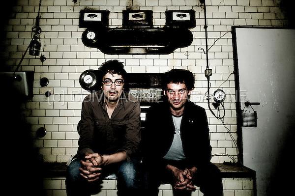 Stand-up comedians Gunter Lamoot and Thomas Smith (Belgium, 08/05/2009)