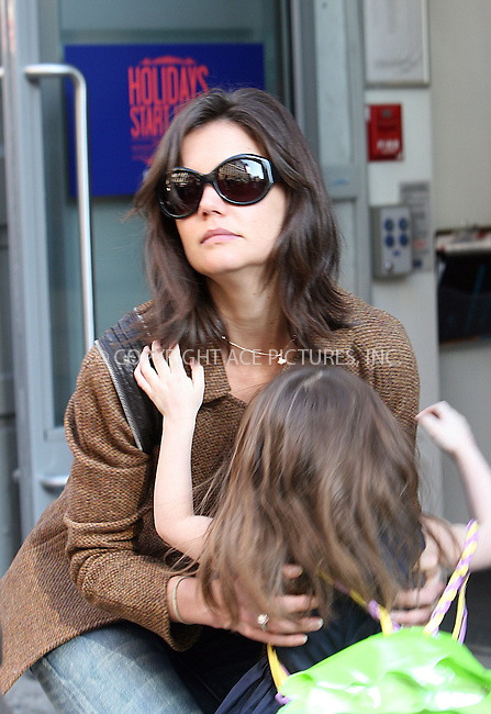 WWW.ACEPIXS.COM . . . . .  ....November 22 2009, New York City....Actress Katie Holmes was out in Manhattan with her daughter Suri Cruise and Tom Cruise's adpoted daughter Isabella Cruise on November 22 2009 in New York City....Please byline: NANCY RIVERA- ACEPIXS.COM.... *** ***..Ace Pictures, Inc:  ..Tel: 646 769 0430..e-mail: info@acepixs.com..web: http://www.acepixs.com