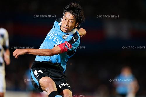 Kengo Nakamura (Frontale), <br /> JULY 11, 2015 - Football / Soccer : <br /> 2015 J1 League 2nd stage match <br /> between Kawasaki Frontale 2-0 F.C. Tokyo <br /> at Kawasaki Todoroki Stadium, Kanagawa, Japan. <br /> (Photo by AFLO SPORT)
