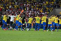 Rio de Janeiro (RJ), 07/07/2019 - Copa América / Final / Brasil x Peru -  A seleção Brasileira durante premiação de Campeão da Copa América, no Estádio Maracanã, neste domingo, 07. (Foto: Ricardo Botelho/Brazil Photo Press)