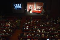 Roma, 1 Dicembre 2012.Testaccio teatro Vittora.Assemblea Cambiare si può, per l'alternativa verso le elezioni 2013.Flores D'Arcais