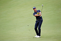 Henrik Stenson (SWE) plays the 8th hole during the 1st round of the 100th PGA Championship at Bellerive Country Club, St. Louis, Missouri, USA. 8/9/2018.<br /> Picture: Golffile.ie | Brian Spurlock<br /> <br /> All photo usage must carry mandatory copyright credit (© Golffile | Brian Spurlock)