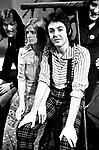 Wings 1973 Denny Seiwell, Linda McCartney, Paul McCartney and Denny Laine <br />&copy; Chris Walter