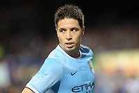 Samir Nasri, Manchester City.Manchester City defeated Chelsea 4-3 in an international friendly at Busch Stadium, St Louis, Missouri.