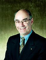 EXCLUSIVE 1998 file photo - Jacques Daoust, President, Laurentian Bank - Banque Laurentienne