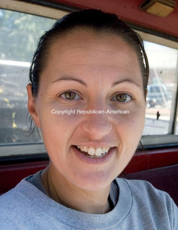 NAUGATUCK CT. 04 September 2013-090413SV16- Katie DelVechio, 32, of Naugatuck.<br /> Steven Valenti Republican-American