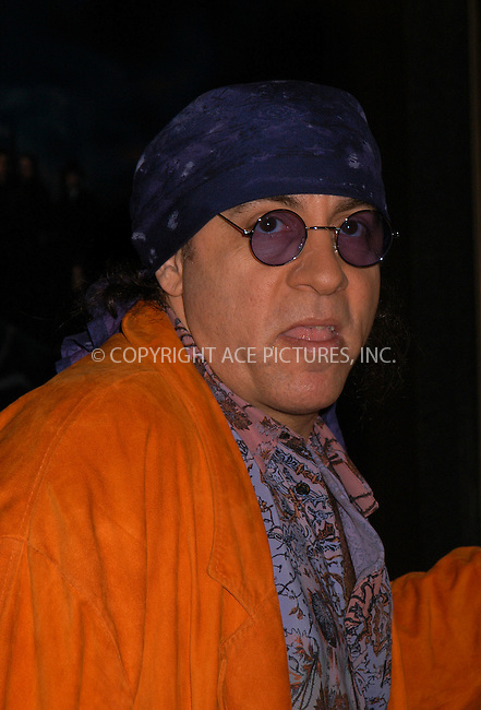Steve Van Zandt at the premiere of 'The Sopranos.' New York, March 2, 2004. Please byline: AJ SOKALNER/ACE Pictures.   ..*PAY-PER-USE*      ....IMPORTANT: Please note that our old trade name, NEW YORK PHOTO PRESS (NYPP), is replaced by new name, ACE PICTURES. New York Photo Press and ACE Pictures are owned by All Celebrity Entertainment, Inc.......All Celebrity Entertainment, Inc:  ..contact: Alecsey Boldeskul (646) 267-6913 ..Philip Vaughan (646) 769-0430..e-mail: info@nyphotopress.com