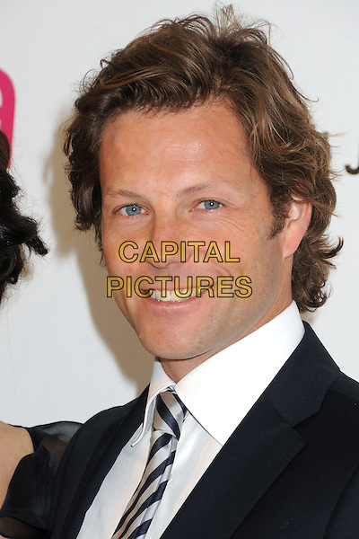 Jamie Bamber.21st Annual Elton John Academy Awards Viewing Party held at West Hollywood Park, West Hollywood, California, USA..February 24th, 2013.oscars headshot portrait suit white shirt black  .CAP/ADM/BP.©Byron Purvis/AdMedia/Capital Pictures.