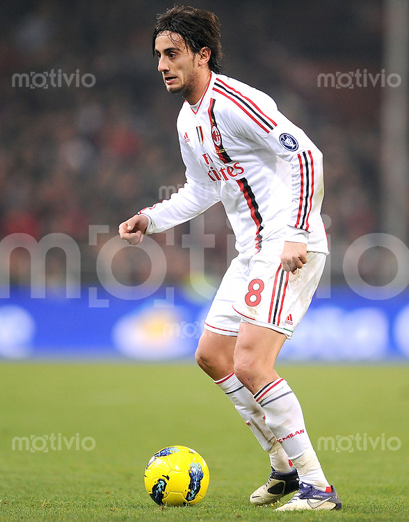 FUSSBALL INTERNATIONAL   SERIE A   SAISON 2011/2012    Genua - AC Mailand   02.12.2011 Alberto Aquilani (AC Mailand)