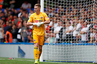 Dean Henderson of Sheffield United during the Premier League match between Chelsea and Sheff United at Stamford Bridge, London, England on 31 August 2019. Photo by Carlton Myrie / PRiME Media Images.