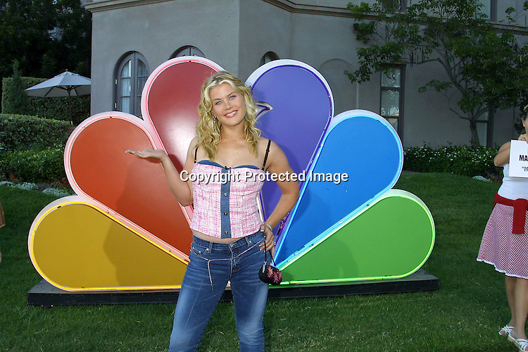 ©2002 KATHY HUTCHINS /HUTCHINS PHOTO.NBC TELEVISION CRITICS ASSOCIATION.PARTY.PASADENA, CA.7/24/02..ALISON SWEENEY