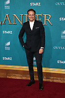 "13 February 2020 - Hollywood, California - Sam Heughan. the Premiere Of Starz's ""Outlander"" Season 5 held at Hollywood Palladium. Photo Credit: FS/AdMedia /MediaPunch"