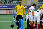 The Hague, Netherlands, June 08: During the field hockey group match (Men - Group B) between the Black Sticks of New Zealand and Germany on June 8, 2014 during the World Cup 2014 at Kyocera Stadium in The Hague, Netherlands.  Final score 3-5 (1-3) (Photo by Dirk Markgraf / www.265-images.com) *** Local caption ***