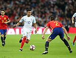 England's Jesse Lingard in action during the friendly match at Wembley Stadium, London. Picture date November 15th, 2016 Pic David Klein/Sportimage