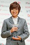 Asano Nagasato (Beleza), November 13, 2012 - Football / Soccer : Plenus Nadeshiko LEAGUE 2012 Award ceremony in Tokyo, Japan. (Photo by Yusuke Nakanishi/AFLO SPORT)..
