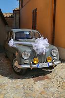 Lancia Car & Italian Wedding.