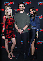 NEW YORK, NY - October 6: Brianne Howey,Vincent Piazza, Emmanuelle Chriqui at New York Comic Con 2018 promoting FOX TV's The Passage at the Jacob K. Javits Convention Center in New York City on October 06, 2018. <br /> CAP/MPI/RW<br /> &copy;RW/MPI/Capital Pictures
