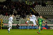 2nd December 2017, Stadio Olimpico Grande Torino, Turin, Italy; Serie A football, Torino versus Atalanta; Hans Hateboer controls a high ball