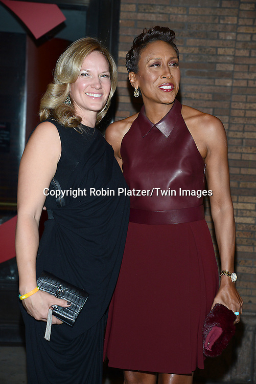Robin Roberts and girlfriend Amber Laign attend the Glamour Women of the Year Awards on November 10, 2014 at Carnegie Hall in New York City. <br /> <br /> photo by Robin Platzer/Twin Images<br />  <br /> phone number 212-935-0770