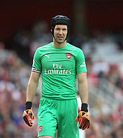 Arsenal's Petr Cech<br /> <br /> Photographer Rob Newell/CameraSport<br /> <br /> The Premier League - Arsenal v West Ham United - Saturday August 25th 2018 - The Emirates - London<br /> <br /> World Copyright © 2018 CameraSport. All rights reserved. 43 Linden Ave. Countesthorpe. Leicester. England. LE8 5PG - Tel: +44 (0) 116 277 4147 - admin@camerasport.com - www.camerasport.com