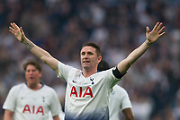 Spurs Legends Robbie Keane during the Tottenham Hotspur Legends v Inter Milan Legends during the 2nd test event at Tottenham Hotspur Stadium, High Road, London, England on 30 March 2019. Photo by Andrew Aleksiejczuk / PRiME Media Images.