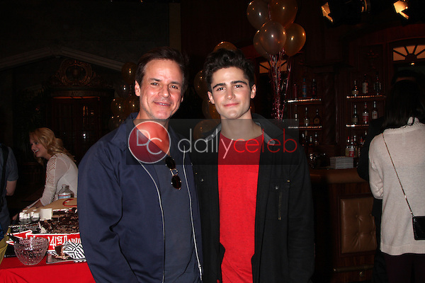 Christian LeBlanc, Max Erlich<br /> at the Young and Restless 41st Anniversary Cake, CBS Television City, Los Angeles, CA 03-25-14<br /> David Edwards/DailyCeleb.com 818-249-4998