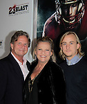 "Premiere of ""23 Blast"" - Vision Comes From Within"" - a film by Dylan Baker starring Kim Zimmer and goes to the premier with her husband AC Weary and son Max October 20, 2014 at Regal Cinemas E-Walk Theatre, New York City. (Photo by Sue Coflin/Max Photos)"