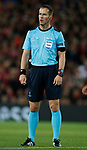 Referee Danny Makkelle during the Champions League Group E match at the Anfield Stadium, Liverpool. Picture date 13th September 2017. Picture credit should read: Simon Bellis/Sportimage