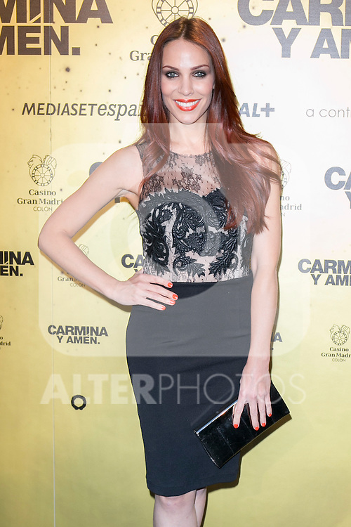 "Spanish actress Nerea Garmendia attend the Premiere of the movie ""Carmina y Amen"" at the Callao Cinema in Madrid, Spain. April 28, 2014. (ALTERPHOTOS/Carlos Dafonte)"