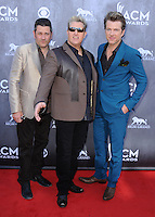 LAS VEGAS, NV - APRIL 6:  Rascal Flatts at the 49th Annual Academy of Country Music Awards at the MGM Grand Garden Arena on April 6, 2014 in Las Vegas, Nevada.MPIPG/Starlitepics
