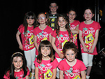 The group 'Television' from Collon who took part in the KidKast show at the TLT. Photo: Colin Bell/pressphotos.ie