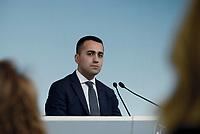 Roma, 8 Maggio 2019<br /> Il Vice Premier e Ministro del Lavoro Luigi Di Maio al termine del Consiglio dei Ministri tiene una conferenza stampa