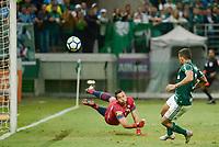 SÃO PAULO, SP, 12.09.2018 - PALMEIRAS-CRUZEIRO - Fábio, goleiro do Cruzeiro durante partida contra o Palmeiras em jogo válido pela Copa do Brasil 2018 no Allianz Parque em São Paulo, nesta quarta-feira, 12. (Foto: Anderson Lira/Brazil Photo Press)