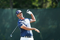 Scott Piercy (USA) tees off on the second hole during the third round of the 118th U.S. Open Championship at Shinnecock Hills Golf Club in Southampton, NY, USA. 16th June 2018.<br /> Picture: Golffile | Brian Spurlock<br /> <br /> <br /> All photo usage must carry mandatory copyright credit (&copy; Golffile | Brian Spurlock)