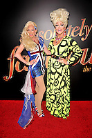 New York,NY-May 18: Chrysanthemum and Alexis Michelle attend the 'Absolutely Fabulous: The Movie' New York premiere at SVA Theater on July 18, 2016 in New York City. @John Palmer / Media Punch