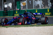 23rd March 2018, Melbourne Grand Prix Circuit, Melbourne, Australia; Melbourne Formula One Grand Prix, Friday free practice; The number 28 Red Bull Toro Rosso Honda driven by Brendon Hartley