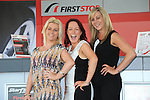 Megan Heenehan, Lucy Doocey, Michelle Fogerty<br /> at the Opening of First stop in the Donore road retail park.<br /> Picture:  Fran Caffrey / www.newsfile.ie