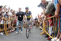 Alberto Contador during the stage of La Vuelta 2012 between Barakaldo and Valdezcaray.August 21,2012. (ALTERPHOTOS/Acero) /NortePhoto.com