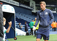 Blackburn Rovers' Joe Rothwell high fives a young fan<br /> <br /> Photographer Kevin Barnes/CameraSport<br /> <br /> The EFL Sky Bet Championship - West Bromwich Albion v Blackburn Rovers - Saturday 31st August 2019 - The Hawthorns - West Bromwich<br /> <br /> World Copyright © 2019 CameraSport. All rights reserved. 43 Linden Ave. Countesthorpe. Leicester. England. LE8 5PG - Tel: +44 (0) 116 277 4147 - admin@camerasport.com - www.camerasport.com