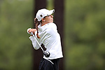 CHAPEL HILL, NC - OCTOBER 13: Vanderbilt's Virginia Green on the 10th tee. The first round of the Ruth's Chris Tar Heel Invitational Women's Golf Tournament was held on October 13, 2017, at the UNC Finley Golf Course in Chapel Hill, NC.