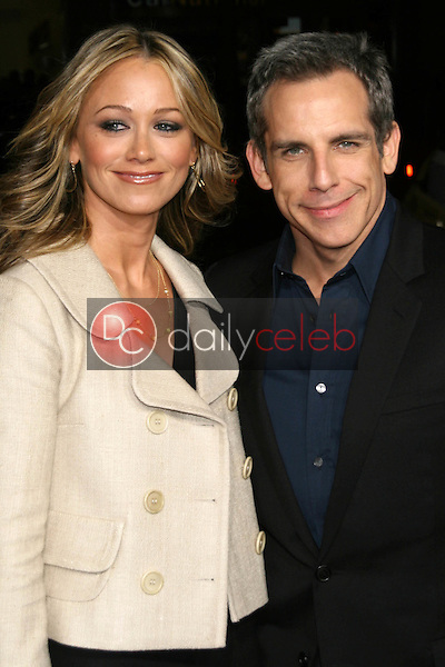 Christine Taylor and Ben Stiller<br />