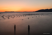 Sunset on the Columbia River, Astoria, Oregon