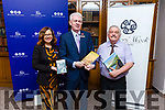 Launching the Listowel Writer Week book reading night in the Rose Hotel on Monday and will be held in the Rose Hotel. <br /> Aisling Foley and Mark Sullivan (The Rose Hotel) and Sean Lyons (Listowel Writers Week)