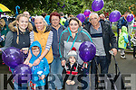 Catherine O'Halloran, Graham and Lisa Edge with Noreen, Julia, John and Anthony Lyne, all from Ardfert, , pictured at the Balloon release in Tralee Town Park on Sunday last.